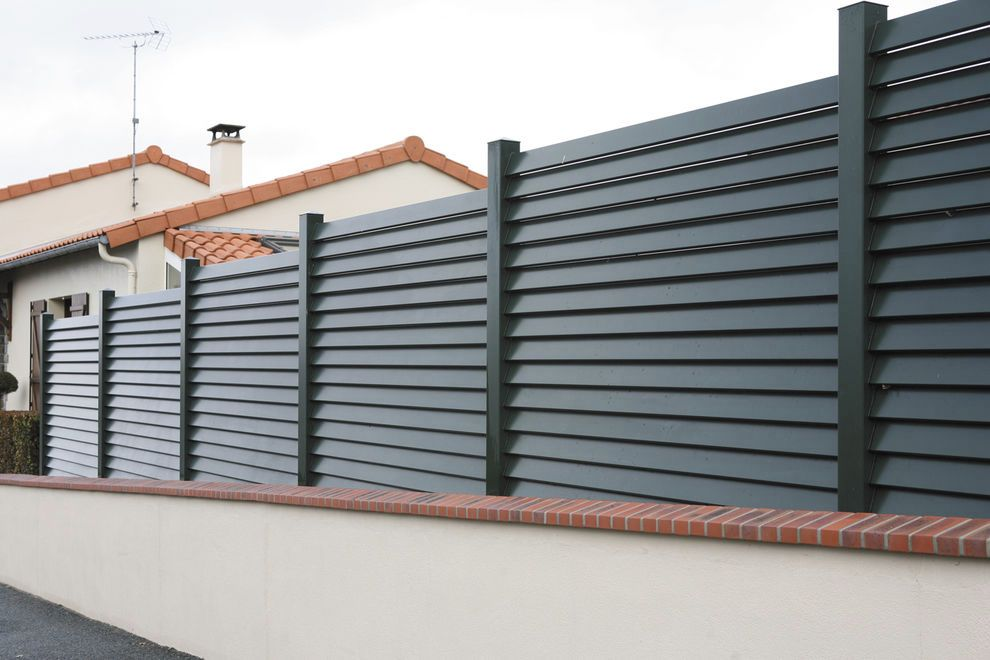 clotures vert equip 39 On cloture de jardin aluminium